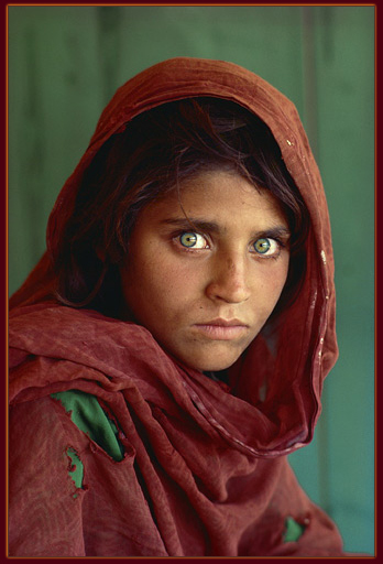 Afghan Girl — Steve McCurry, 1984