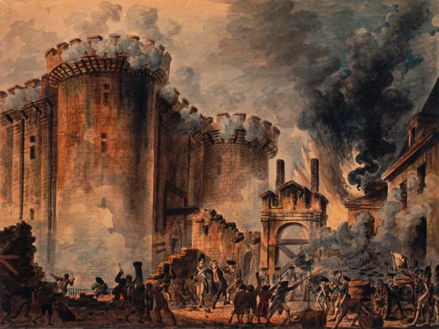 Jean-Pierre Houel — The Storming of the Bastille