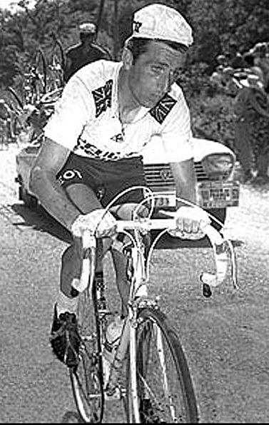 Tom Simpson dies — Mont Ventoux, July 13, 1967