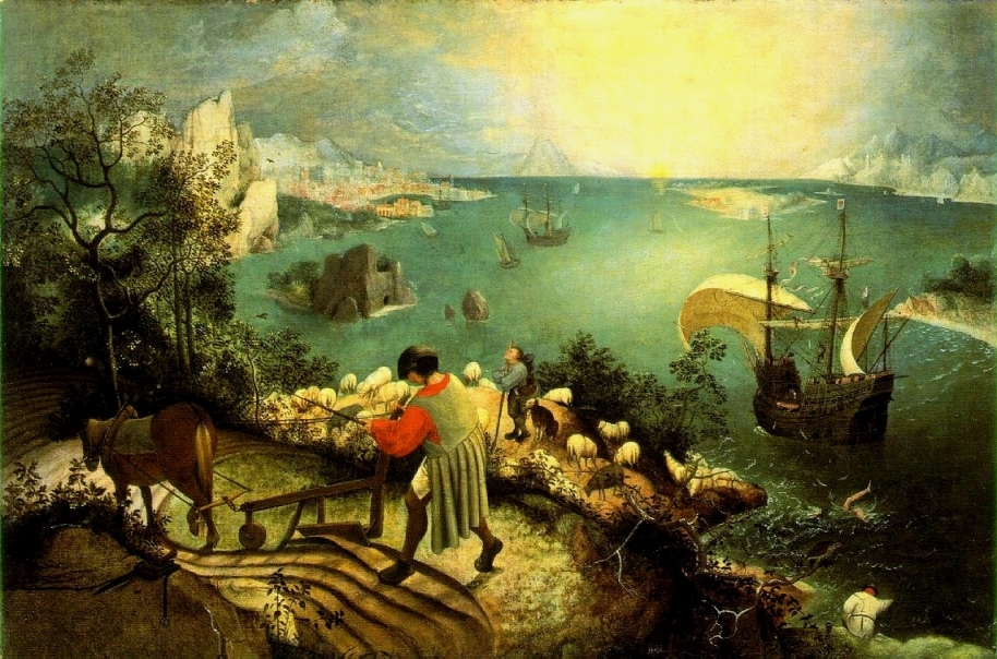 Pieter Brueghel the Elder — Lanscape with the Fall of Icarus