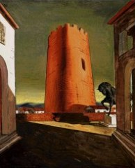Giorgio de Chirico — The Red Tower