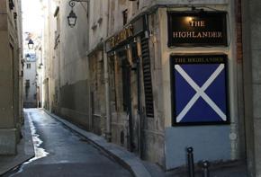 The Saltire flag of Scotland