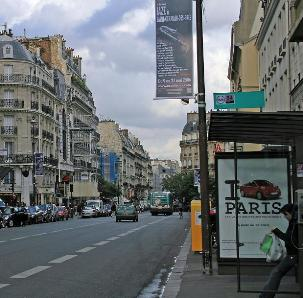 Paris, rue de Sèvres — May 2006.