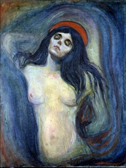 Edvard Munch — Madonna
