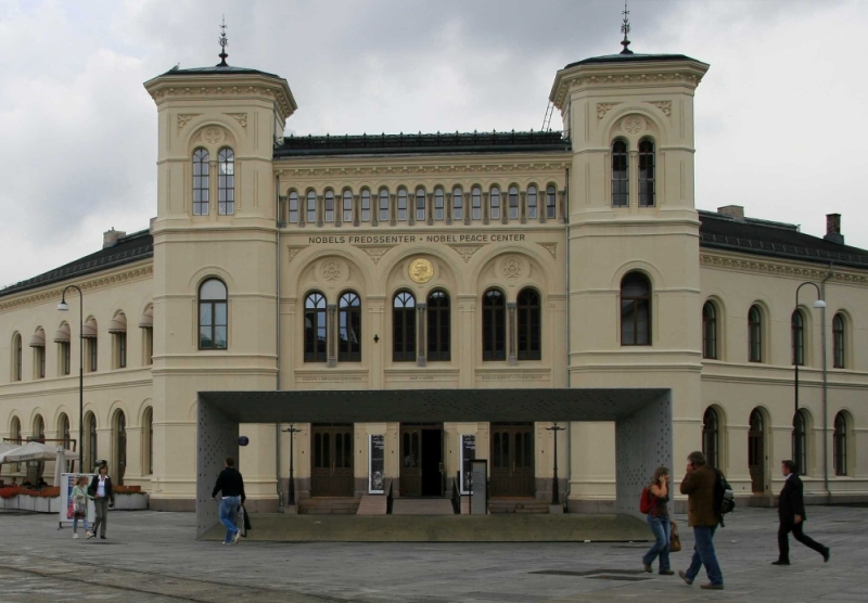 The Nobel Peace Centre in Oslo