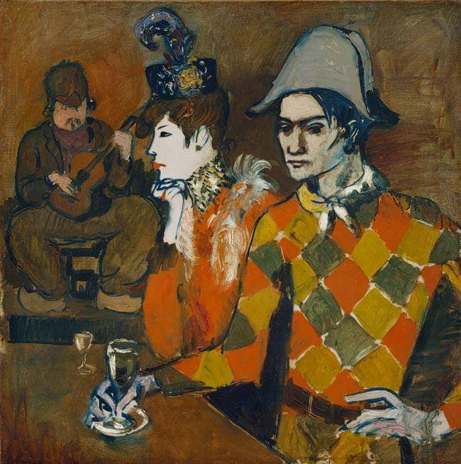 Pablo Picasso - Au Lapin Agile