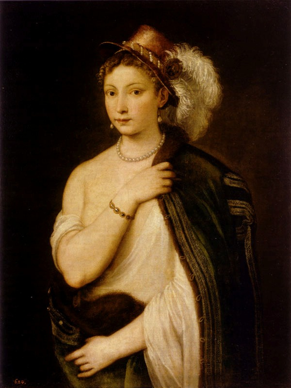 Titian — Portrait of a young woman